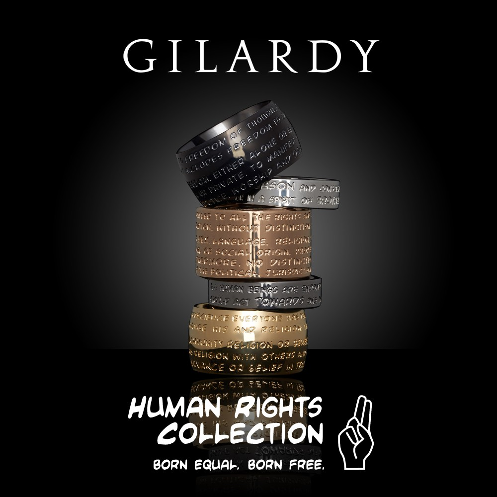 Zu den GILARDY HUMAN RIGHTS Ringen